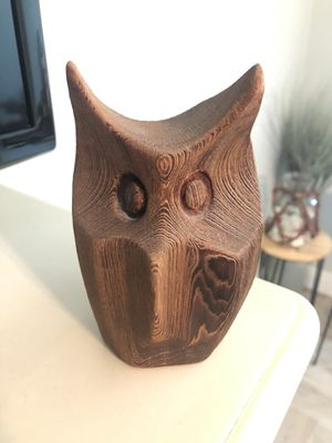 Wooden owl decor for Sale in Melbourne, FL