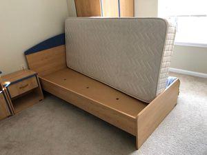 Bedroom set- MDF wood for Sale in Alexandria, VA