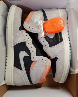 Get hype like never before with these new Jordan 1 Retro High Neutral Grey Hyper Crimson. This AJ1 for Sale in Miami, FL