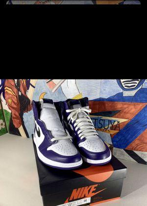 Court purple 2.0 Jordan 1 for Sale in Hopewell, VA