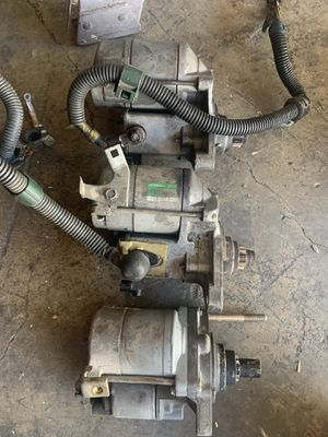 Bseries starters sohc dizzy Civic em1 parts Acura view pictures for Sale in Ontario, CA