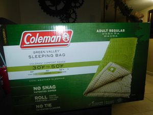 Coleman Sleeping Bag - New Never used for Sale in Pawtucket, RI