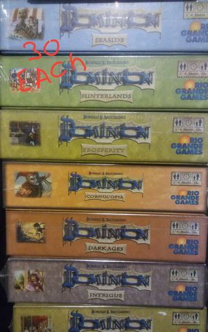 Board games and deck builder games, dominion, catan, pandemic, munchkin, monopoly and more for Sale in Orlando, FL