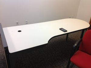 Desks tables chairs office furniture PRICE REDUCED TO MOVE 100.00 for Sale in Denver, CO