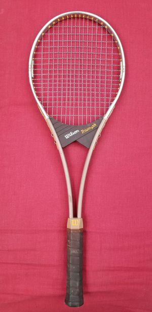 Wilson Triumph PWS Vintage Tennis Racket for Sale in Beaverton, OR