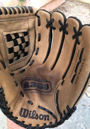 Wilson A360 Softball Glove Mitt for Sale in Henderson, NV