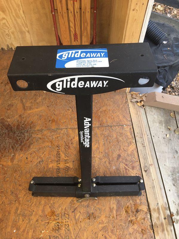 Glide Away bike rack