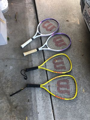 Tennis rackets (4) for Sale in Long Beach, CA