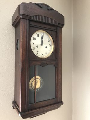 Antique restored German clock with chimes for Sale in Portland, OR