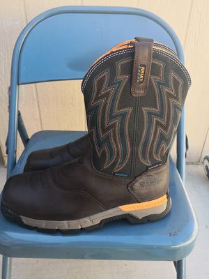 Ariat composite toe work boots size 10.5 D for Sale in Riverside, CA