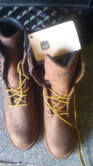 Red wings water proof work boots for Sale in San Bernardino, CA