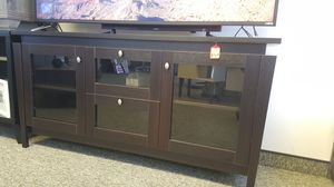 TV Stand up to 70in TVs, Espresso for Sale in Fountain Valley, CA
