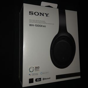 Sony WH1000XM3/B Bluetooth Headphones Black for Sale in Arlington, TX