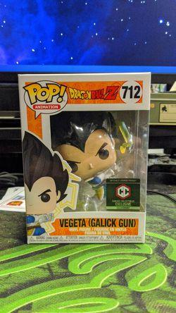 Funko Pop 712 Vegeta galick gun dragon Ball z for Sale in Sacramento,  CA