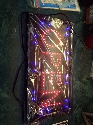 LED OPEN LIGHTED SIGN for Sale in Nettleton, MS