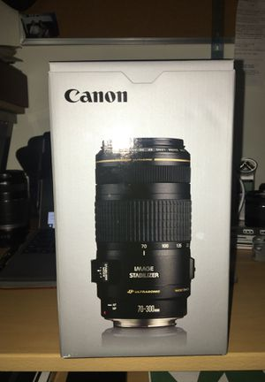 Brand new Canon 70-300 mm F/4-5.6 IS USM for Sale in Herndon, VA