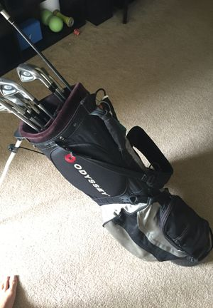 Golf Clubs: Titleist DCI Irons 3-PW, Ping Putter, Odyssey Standup Golf Bag, and Taylor Made Driver for Sale in Los Angeles, CA