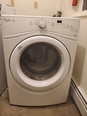 Slightly used whirlpool duet sponsored dryer. Runs amazing not longer have room for it for Sale in Anchorage, AK