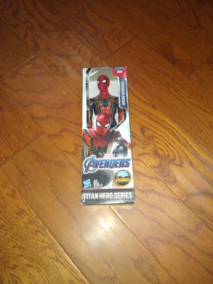 Avenger Infinity War Iron Spider Figure - Brand New! for Sale in Pittsfield, MA