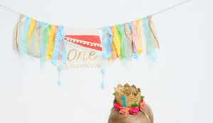 Moana 1st Birthday Outfit and Banner for Sale in Newport Beach, CA