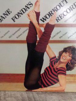 Jane Fonda's Workout Album- Double Vinyl (1981) for Sale in Deltona,  FL
