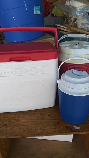 Coleman coolers lot for Sale in Tucson, AZ
