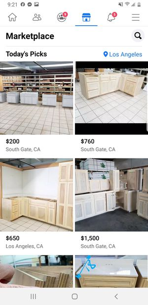 KITCHEN CABINETS ALL 3/4 PLYWOOD for Sale in Lynwood, CA