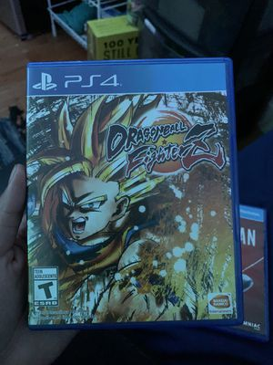 Dragon B Fighterz Ps4 game for Sale in Daly City, CA