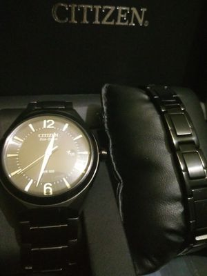 Mens Citizen Eco-Drive Watch w/ Bracelet (brand new) for Sale in St. Louis, MO