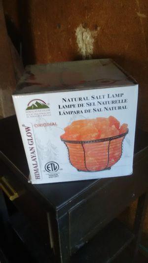 Salt lamp Himalayan salt meditation for Sale in Visalia, CA