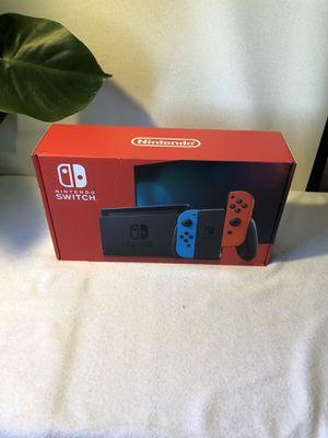 Nintendo switch 32gb Neon red Neón blue for Sale in San Diego, CA