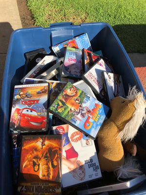 Movies and books 1.00 each for Sale in Sanger, CA
