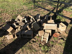 Free cinder blocks - will pay you to haul away for Sale in Highland Village, TX