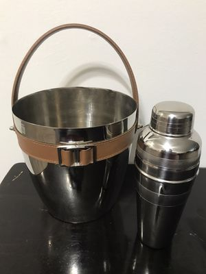 Ice Bucket and Grey Goose Cocktail Shaker for Sale in Middletown, CT