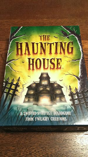The Haunting House Strategy Board Game for Sale in Lynnwood, WA