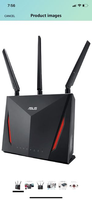 ASUS AC2900 WiFi Dual-band Gigabit Wireless Router for Sale in Miramar, FL
