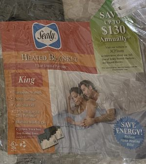 Sealy Electric Heated Blanket - King size (2 sets) for Sale in Ellicott City, MD