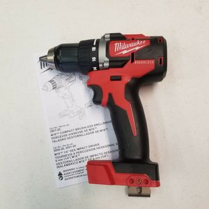 MILWAUKEE M18 BRUSHLESS DRILL 2-SPEED 🛑TOOL ONLY/NO BATERIA for Sale in Houston, TX