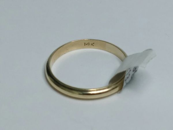 $199.99 - 3.9 gram, 14k Gold, size 10 1/2 ring