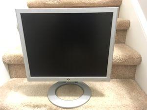 "19"" HP LCD flat screen monitor, great condition for Sale in Jonesborough, TN"