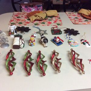 VARIETY OF CHRISTMAS ORNAMENTS for Sale in Virginia Beach, VA