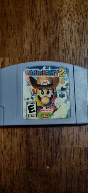 Mario party 2 n64 for Sale in Chicago, IL
