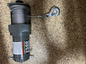 Bad Land 2500lbs Winch for Sale in San Diego, CA
