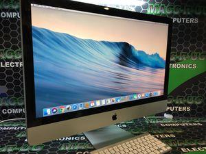 "27"" Apple all in One desktop Core i7, 8gigs RAM, 2000 gigHDD, USB Ethernet ports WIFI, WARRANTY for Sale in Houston, TX"
