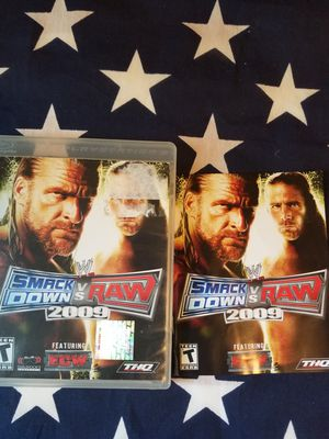 Smack Down Vs Raw 2009 (PS3) for Sale in US