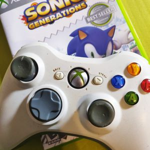 Xbox 360 Controller & Game for Sale in Denton, TX