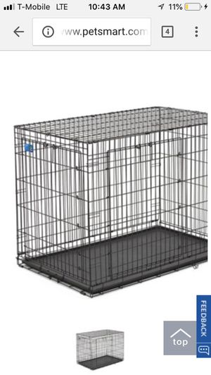 Top paw extra large dog crate. Collapsible with removable bottom tray for Sale in Philadelphia, PA