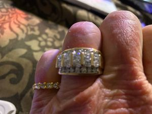 Diamond men's wedding or engagement ring all true diamonds purchased 3 months ago from Jared's for Sale in French Camp, CA