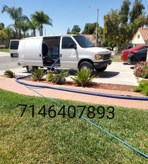 Steam deep clean carpet tile upholstery text today for more information hablamos español for Sale in San Jacinto, CA