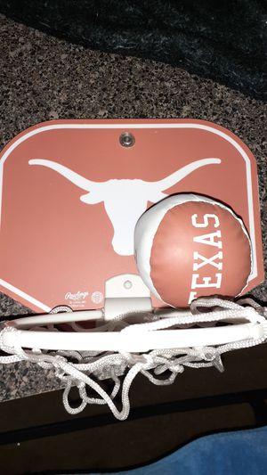 Longhorns basketball hoop for Sale in Austin, TX